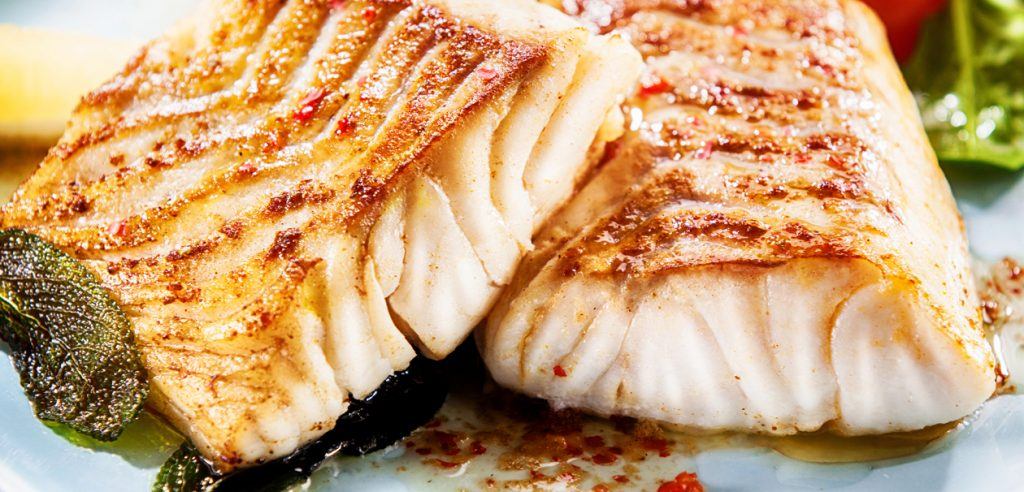 Seared Chilean seabass pieces - Whole Chilean seabass by Sapmer