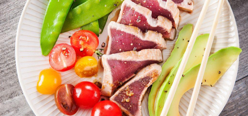 Skipjack tataki recipe by Sapmer