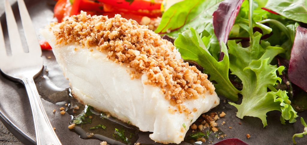 Cooked Chilean Seabass fillet - SAPMER