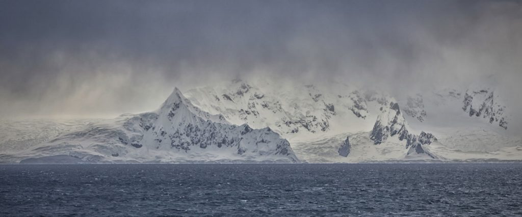 Snowy coast - SAMPER Antarctic fisheries